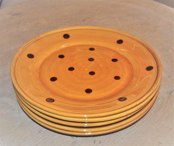 Assiette Marli plate décor à la poire