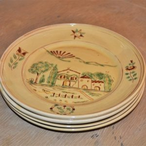 Assiette Marli plate Collection